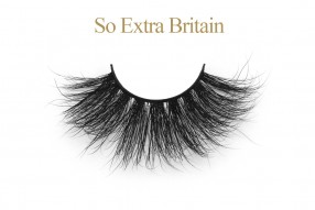 'So Extra' Britain - 25MM Mink Lashes