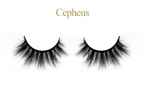 Cepheus - Mink 3D lashes with custom packaging box