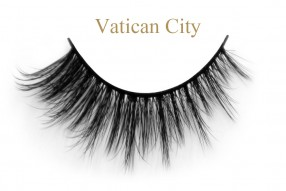 Vatican City-3D silk lashes
