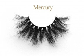 Mercury - 25MM Fluffy Mink Lashes