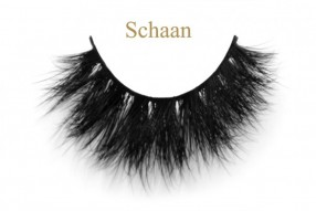 Schaan-3D mink feather lashes wholesale