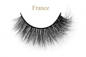France - 15MM 3D Mink Fluffy Lashes