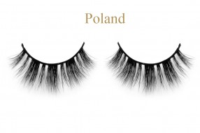 Poland-3D mink lashes with cool box