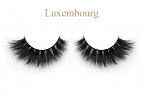 Luxembourg-3D mink strip lashes online