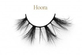 Hoora - 3D Mink Lashes With Customized Round Packaging Box