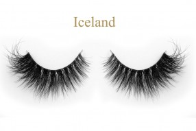 Iceland-3D invisible band mink lashes classes