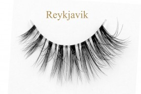 Reykjavik-3D invisible band mink lashes
