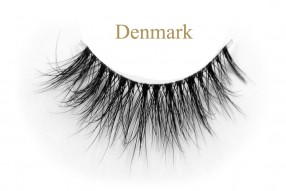 Denmark-3D invisible band mink lashes