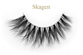 Skagen-3D invisible band mink lashes