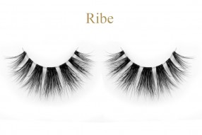 Ribe-3d invisible band mink lashes