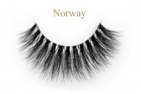 Norway-3d invisible band mink lashes