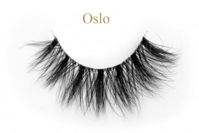 Oslo-3d invisible band mink lashes