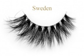Sweden-3D invisible band mink lashes