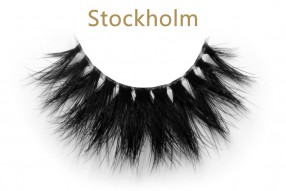 Stockholm-3D invisible band mink lashes