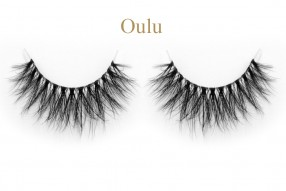 Oulu-3D invisible band mink lashes