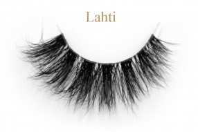 Lahti-3D invisible band mink lashes