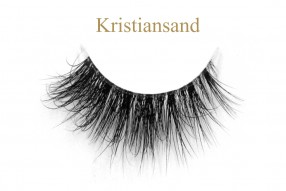 Kristiansand-3D invisible band mink lashes