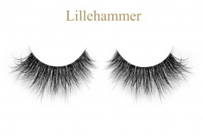 Lillehammer-3D invisible band mink lashes