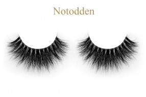 Notodden-3D invisible band mink lashes