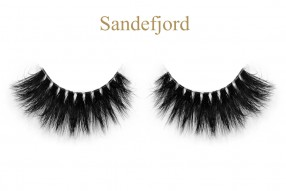 Sandefjord-3D invisible band mink lashes