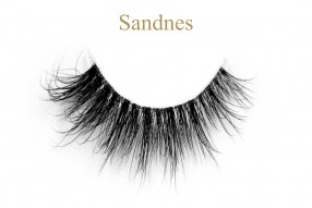 Sandnes-3D invisible band mink lashes