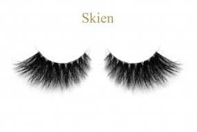 Skien-3D invisible band mink lashes